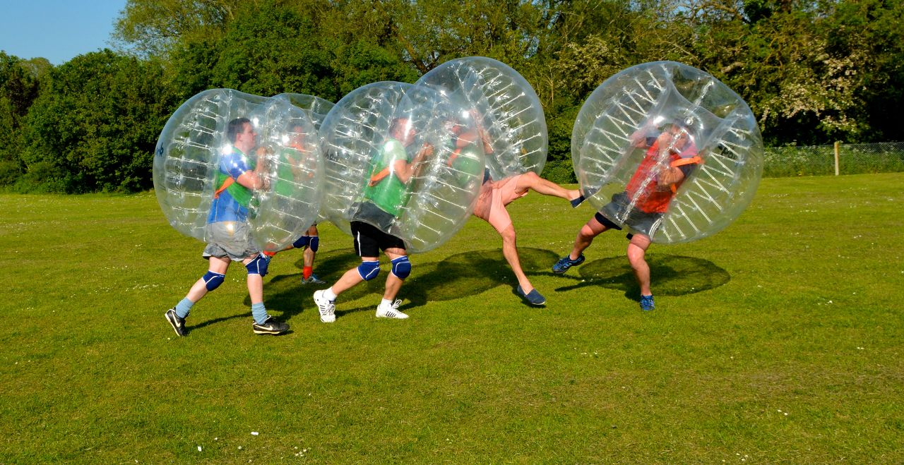 Cyprus Bubble Football - OLIMPO UGNIS